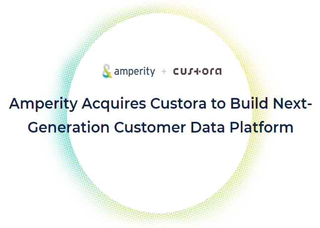 AI-Based Customer Data Startup Amperity Acquires Custora