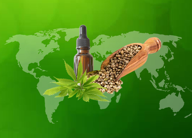 List of 55 CBD Legalized Countries