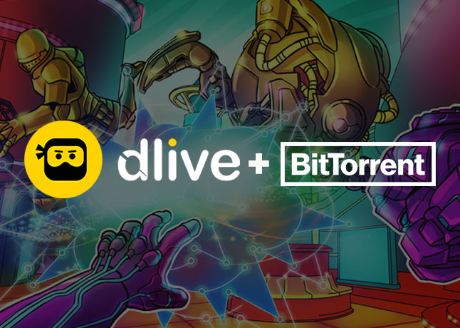 DLive Ties-Up with BitTorrent To Up Decentralized Live Streaming
