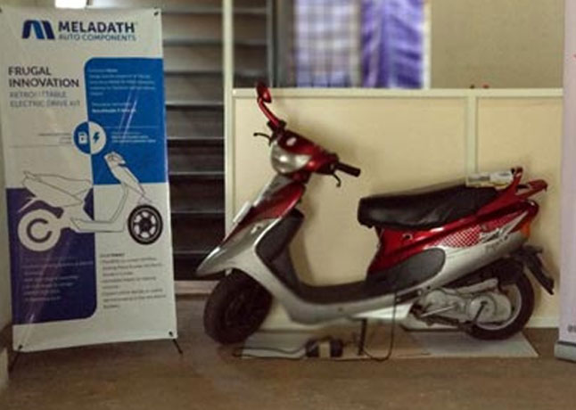 Ezee Hybrid's Innovative Petrol And Electric Driven Hybrid Scooter