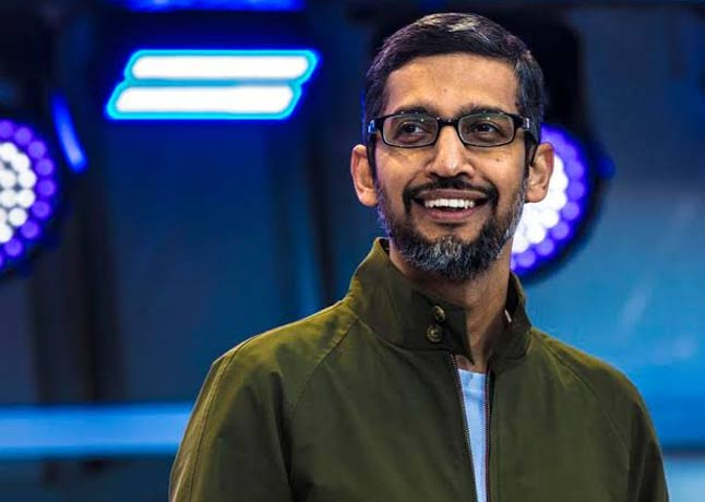 Google CEO Sundar Pichai Takes Over the Lead of Alphabet