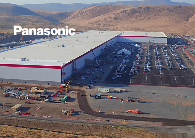 Tesla Partner Panasonic To Temporary Shutdown Its Nevada Gigafactory