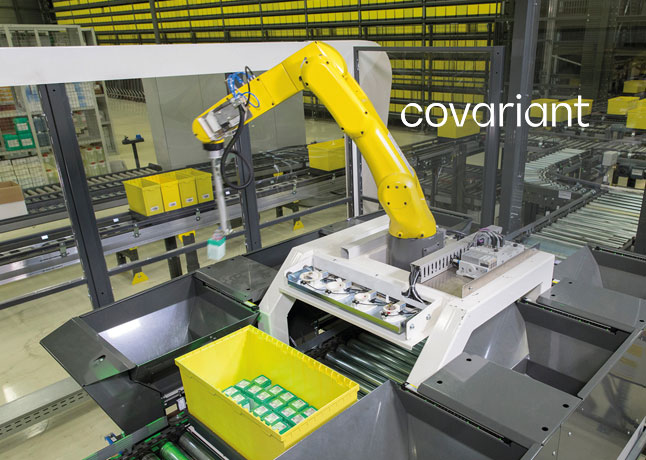 Robotics AI Startup Covariant Lifts $40M To Brings Robots To Warehouses