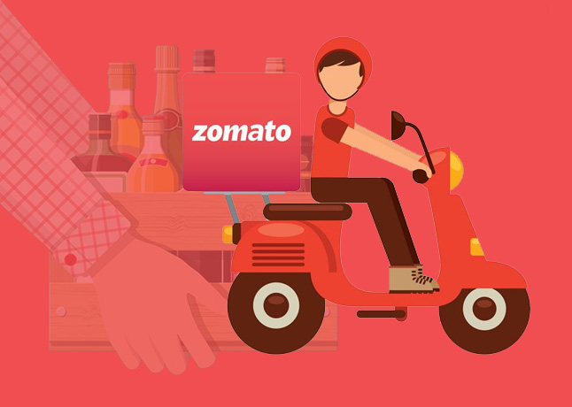 Zomato Is Planning To Enter Into Liquor Home Delivery Amid The Pandemic