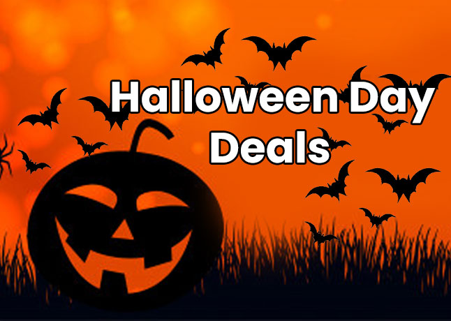 Halloween Day Deals and Coupons 2019