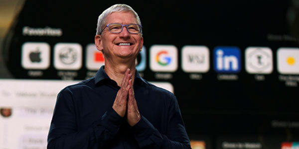 Apple Becomes 1st US Company To Touch $2 Trillion Milestone In Market Value