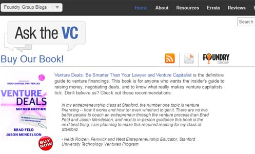 Ask the VC