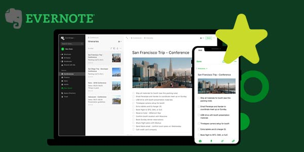 Cloud-Based App Evernote Makes Note Taking Superbly Convenient