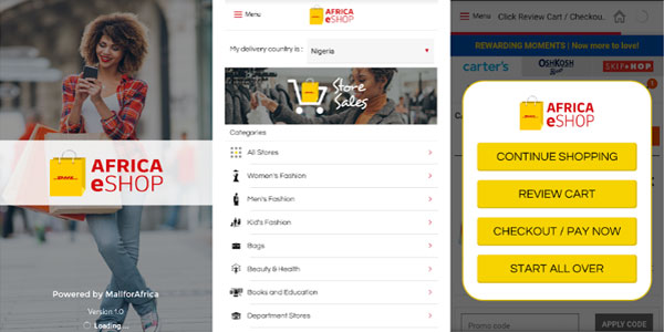 DHL Africa eShop Expands Online Retail App to 34 Countries