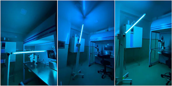 Security Startup Sunbots Launches UV-C-Based Disinfection Device Sterilite