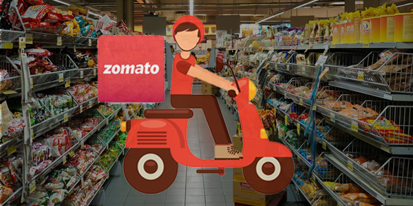 Zomato Reportadely Entering Into Grocery Delivery Services