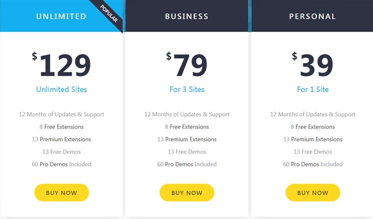 oceanwp-pricing