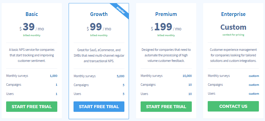 retently pricing