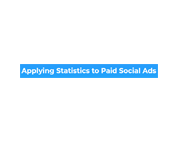 Applying Statistics to Paid Social Ads Coupon